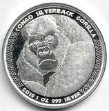 Kongo - Silberrücken Gorilla 2018