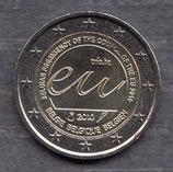 Belgien 2€ Gedenkmünze 2010 EU-Ratspräsidentschaft