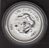 Australien Lunar I 2 Unzen 2000 Drache
