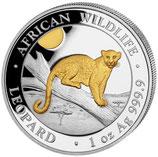 Somalia -  Leopard 2021 vergoldet