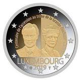Luxemburg 2€ Gedenkmünze 2019 - Großherzogin Charlotte