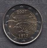 Finnland 2€ Gedenkmünze 2007 - 90 Jahre Unabhängigkeit