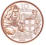 10 Euro Kupfermünze 2021 Brüderlichkeit