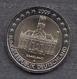 Deutschland 2€ Gedenkmünze 2009 - Saarland