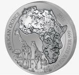 Ruanda - Serie Wildtiere Giraffe 2018