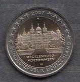 Deutschland 2€ Gedenkmünze 2007 - Schloss Schwerin