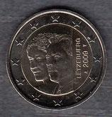 Luxemburg 2€ Gedenkmünze 2009 - Henri u. Charlotte