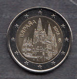 Spanien 2€ Gedenkmünze 2012 - Burgos