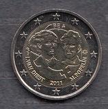 Belgien 2€ Gedenkmünze 2011 - Frauentag
