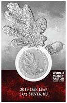 Germania - Oak Leaf /  Eichenlaub 2019 Blister