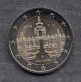 Deutschland 2€ 2016 - Dresdner Zwinger G