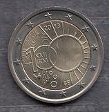 Belgien 2€ Gedenkmünze 2013 - Meteorologisches Institut