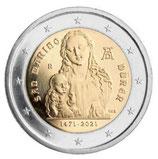 San Marino 2€ 2021 - 500 Jahre Albrecht Dürer