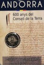 Andorra 2€ 2019 - Consell de la Terra in CC