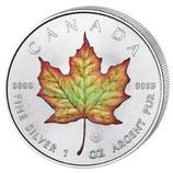 Kanada - Maple Leaf 2018  coloriert