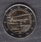 Malta 2€ Gedenkmünze 2015 - Erstflug