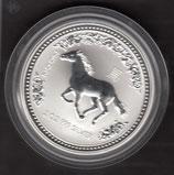 Australien Lunar I 2 Unzen 2002 Pferd