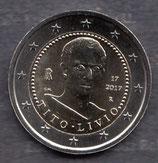 Italien 2€ Gedenkmünze 2017 - Todestag von Titus Livius