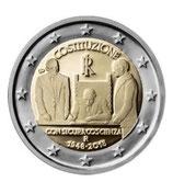 Italien 2 € Gedenkmünze 2018 - 70 Jahre Verfassung