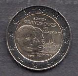 Luxemburg 2€ Gedenkmünze 2012 - Guillaume