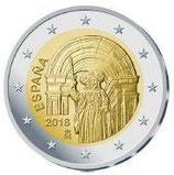 Spanien 2€ Gedenkmünze 2018 - Santiago de Compostela