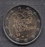 Frankreich 2 € Gedenkmünze 2008 - EU Ratsvorsitz