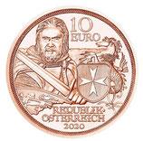 10 Euro Kupfermünze 2020 Standhaftigkeit