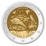 Litauen 2€ 2021 - Biosphärenreservat
