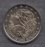 Italien 2€ Gedenkmünze 2005 - 1 Jahr EU Verfassung