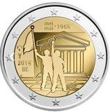 Belgien 2€ Gedenkmünze 2018 - 50 Jahre Studentenrevolte