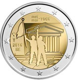 Belgien 2€ 2018 - Studentenrevolte CC Niederl.