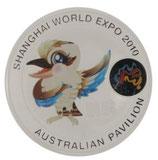 Australien - EXPO 2010 Mascot Kookaburra coloriert