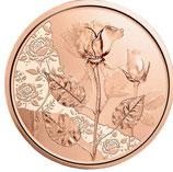 10 Euro Kupfermünze 2021 Rose