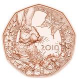 5 € Gedenkmünzen Normalprägung Kupfer