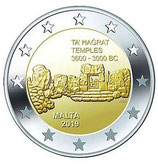 Malta 2€ 2019 - Kulturelles Erbe Ta' Hagrat