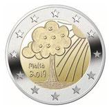 Malta 2€ Gedenkmünze 2019 - Natur und Umwelt