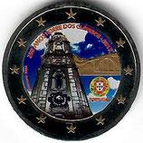 Portugal 2€ Gedenkmünze 2013 - Glockenturm in Porto koloriert