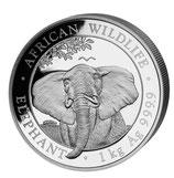 Somalia - 1kg Somalia Elefant 2021