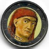 Italien 2€ 2013 - Boccaccio koloriert