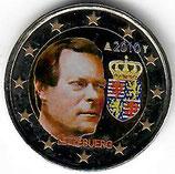 Luxemburg 2€ 2010 - Wappen koloriert A