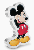 Disney™ - Mickey Mouse shaped Coin 2021