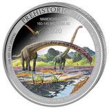 Kongo - Mamenchisaurus 2020 coloriert