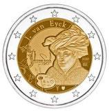 Belgien 2€ 2020 - Jan van Eyck Fra CC