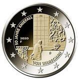 Deutschland 2€ 2020  - Kniefall Warschau alle 5