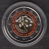 Slowenien 2€ 2010 - Ljubljana koloriert B