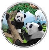 China Panda 2021 coloriert