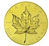 Kanada - Maple Leaf 1oz Gold