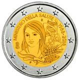 Italien 2 € Gedenkmünze 2018 - Gesundheitsministerium