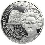 Gibraltar - Queen 88. Geburtstag 2014