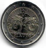 Italien 2€ 2016 - Plauto